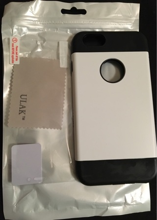 iPhone 6s Plus case w/ screen protector