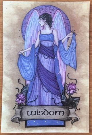 "ANGEL OF WISDOM - 4 x 5"" MAGNET"