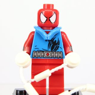New Spider Man Minifigure Building Toy Custom Lego