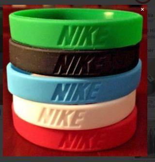 1 baksteball sports wristband bracelet purple NIKE c