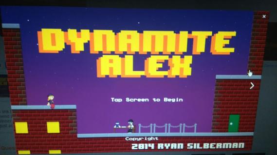 Dynamite Alex itch. io