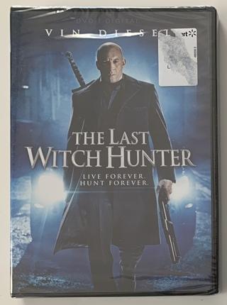 The Last Witch Hunter DVD + Digital UV Movie - Brand New Factory Sealed