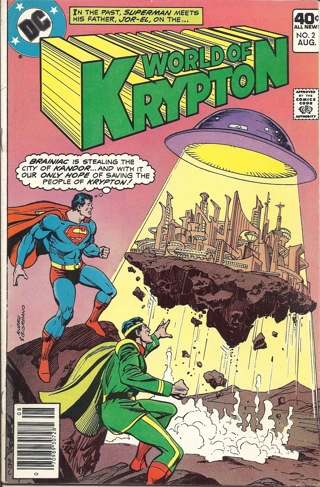(CB-3) 1979 DC Comic Book: World of Krypton #2 { .40c cover }