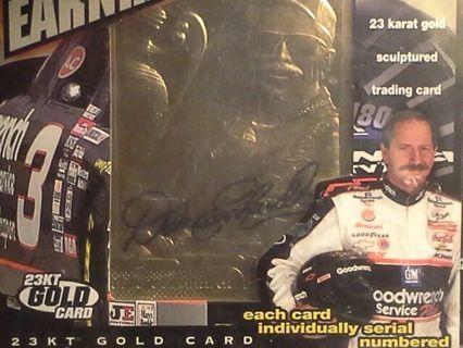 Dale Earnhardt sr. Gold card