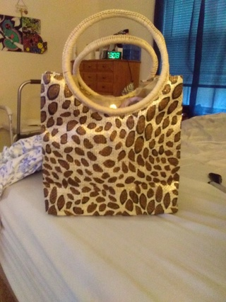 Brand New Leopard Purse/Tote