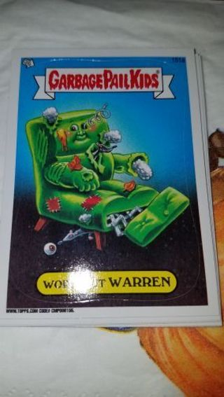 GARBAGE PAIL kid card