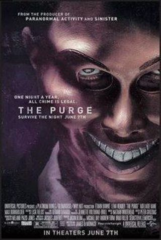 The Purge HDX UV Digital Vudu code only