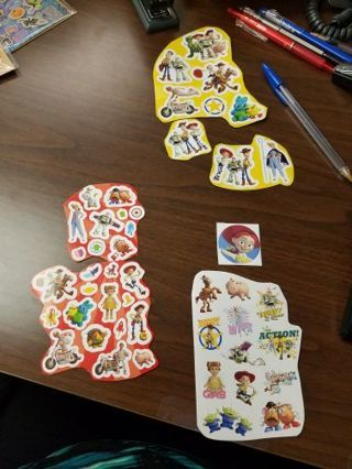 Disney Pixar Toy Story Stickers