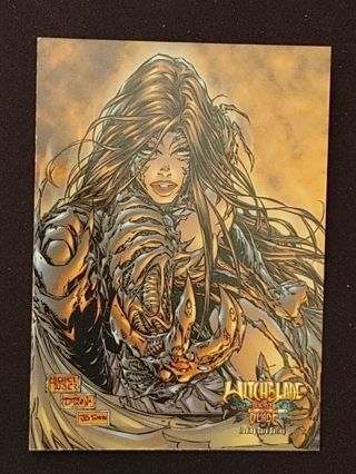 Witchblade Rare Box Topper Insert Trading Card