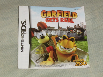 Garfield Gets Real DS Game