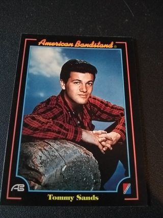 American Bandstand Trading Card Tommy Sands