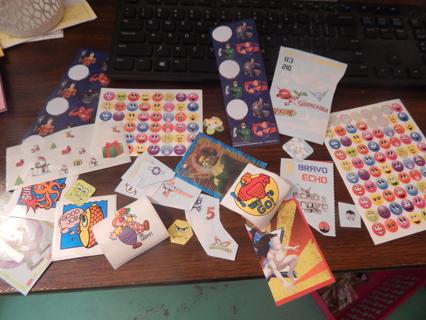 Crazy fun assortment of random stickers!  Lot of 50!