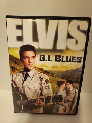 "DVD - ""G.I. Blues"" - rated PG"