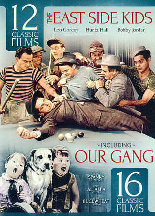 2014 The East Side Kids:12 Classic Films/Our Gang: 16 Classic Dvd Movie Films New Sealed