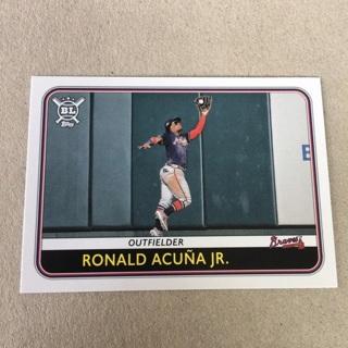 2020 Topps Big League - [Base] #82 Ronald Acuna Jr.