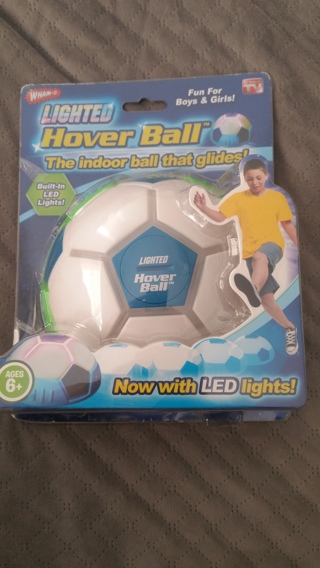 BNIP As Seen On TV: WHAM-O Lighted HOVER BALL Indoor Ball *(+ $5 Amazon IF w/GIN)