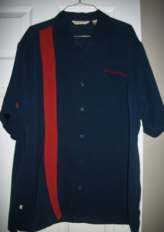 CUBAVERA AMERICAN CLASSIC HOT ROD SHOP BUTTON DOWN SHIRT - SIZE L ***FREE SHIPPING WITH GIN***