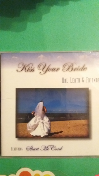 cd hal leath & friends  kiss your bride free shipping