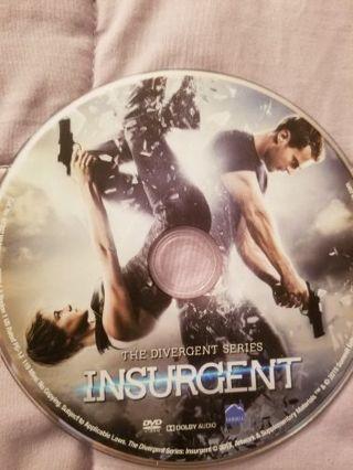 Divergent and Insurgent DVDs