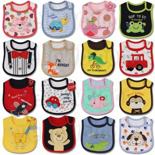 Baby Girl Boy Feeding Bibs Waterproof Apron Cartoon Towel Kids Toddler Dinner baberos Bandanas Bur