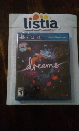 Dreams PS4 (Sony Playstation 4, 2020) Brand New Sealed