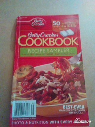 BETTY CROCKER-RECIPE SAMPLER