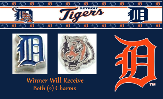 ⚾⚾⚾ Detroit Tigers Lot ⚾⚾⚾ Living Locket Charm(s) ☆VERIFIED USERS ONLY PLEASE☆
