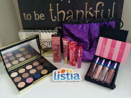 Urban Decay Gwen Stefani Palette & Mac ,Limecrime,Too Faced lippie +Victorias Secret GIFT card☆°•●☆