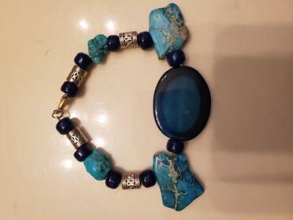 Handmade Native American Turquoise bracelet