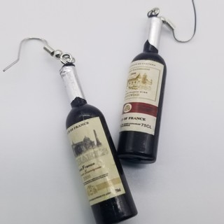 Hilarious earrings,great for happy hour Free ship