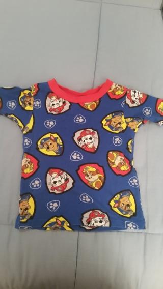 Short Sleeve Pajama Top 4T