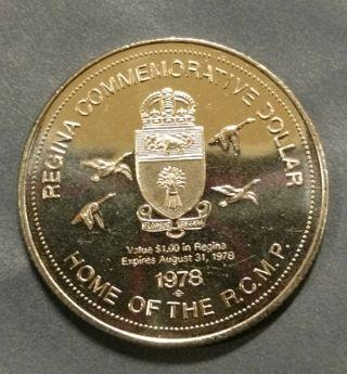 1978 RCMP Commemorative NICKEL DOLLAR- Circulated