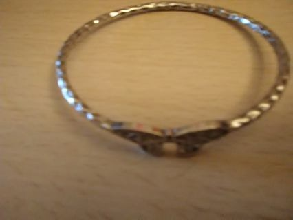 paparazzi silver butterfly bangle bracelet
