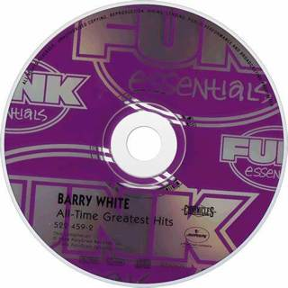 BARRY WHITE ALL TIME GREATEST HITS [CD - ONLY]