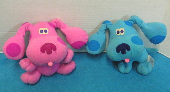 Free S778 Blues Clues Dogs Happy Ears Blue Magenta Fisher Price
