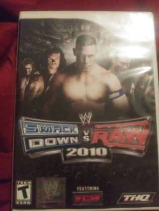 Wii smack down vs Raw 2010