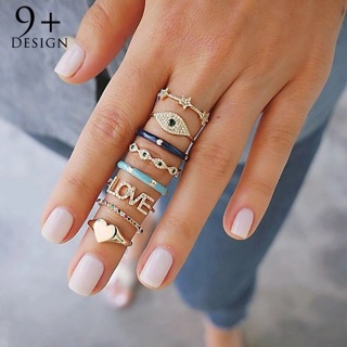 8pcs of rings