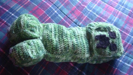 Free Minecraft Creeper Crochet Pattern Crochet Listia