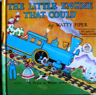"""""""The Little Engine that Could"""", Imaginary Library Book"""