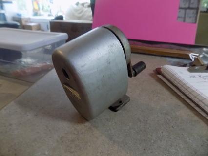Bulldog wall mount crank style pencil sharpener