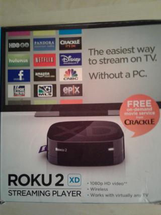 Roku 2 XD Streaming Box