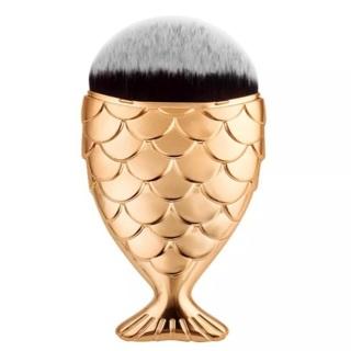 Golden fish Blush brush - the perfect application brush ! 100% new 3 LEFT!