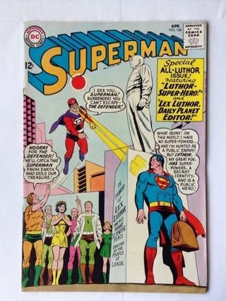 Superman DC Comics 1964 Apr.  no.168