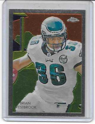 Brian Westbrook 2009 Topps Chrome Chicle #C1