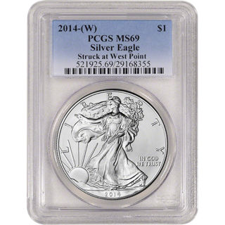 2014-(W) American Silver Eagle - PCGS MS69 - Best Offers Accepted