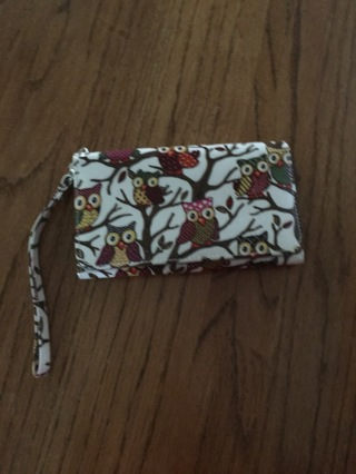 Smartphone Clutch Wristlet Wallet Case Preowned