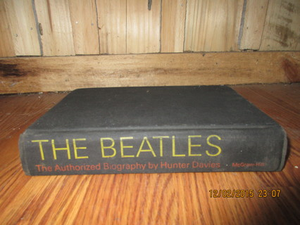 Free Vintage 1968 The Beatles The Authorized Biography By Hunter