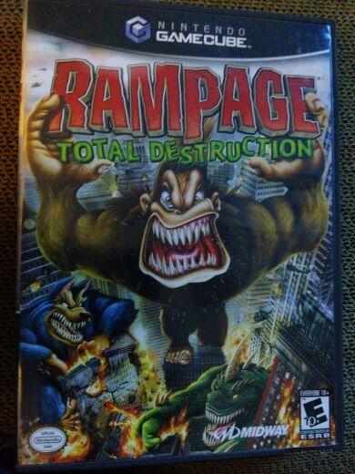Free Rampage Total Destruction Nintendo Game Cube Nintendo