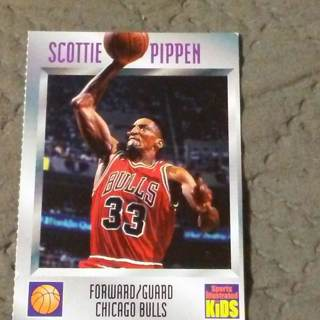Sports  Illustrated for Kids - Scottie Pippen