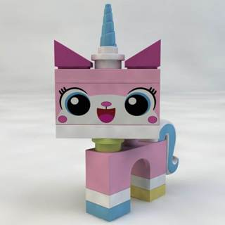 New Unikitty Minifigure Building Toy Custom Lego
